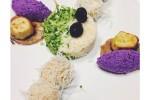 insalata di cavolfiore e broccolo condita all